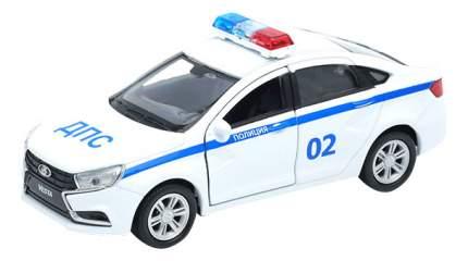 Модель машины Welly 1:34-39 LADA Vesta Полиция ДПС 43727PB