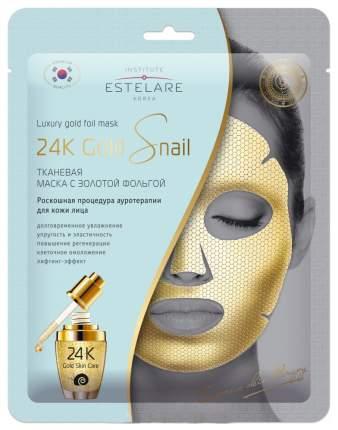 Маска для лица Estelare 24K Gold Snail 25 г
