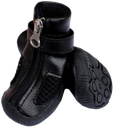 Обувь для собак Triol размер L, 4 шт черный
