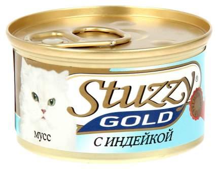 Консервы для кошек Stuzzy Gold, индейка, 24шт, 85г