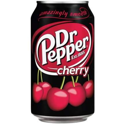 Напиток сильногазированный Dr.Pepper cherry жестяная банка 0.33 л
