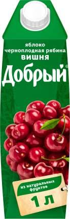 Нектар Добрый яблоко-вишня-черноплодная рябина 1 л