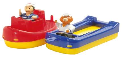 AQUAPLAY Игровой набор игрушки для воды Акваплей Буксир и баржа с фигурками 257