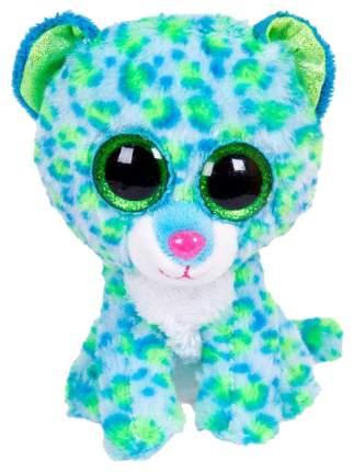 Мягкая игрушка ABtoys Леопард голубой, 15 см