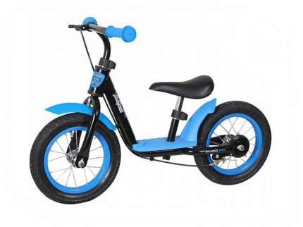 Беговел двухколёсный Moby Kids KidRun 12 12 сине-черный 641169