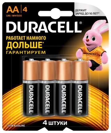 Батарейка Duracell LR6 АА 4 шт
