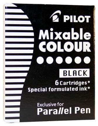 Сменные картриджи Pilot 6 шт. IC-P3-S6 (B)/01751 Черный