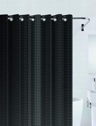 Штора для ванны 3D (черный) 180*200