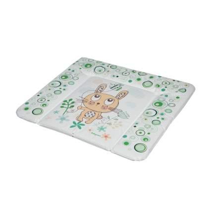 Матрас для пеленания Baby Care Фанни Банни, 820х730х210, зеленый