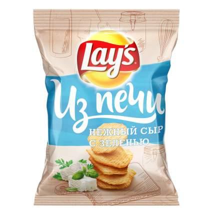 Картофельные чипсы Lay's из печи сливочный сыр с зеленью 85 г