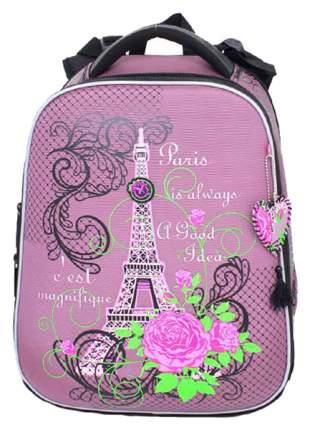 Ранец Paris Flowers Hummingbird для девочек Сиреневый T88