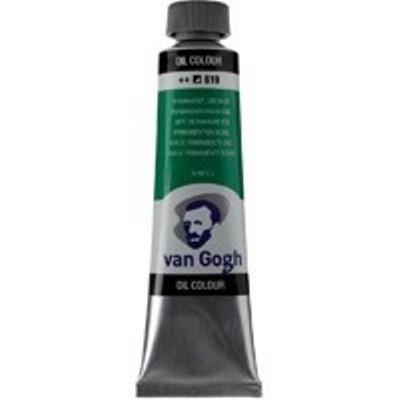 Краска масляная Van Gogh туба 40мл №619 Зеленый насыщенный устойчивый