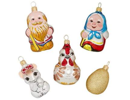 Набор елочных игрушек Елочка С 1787
