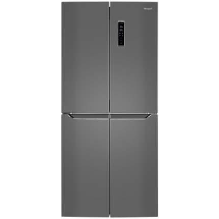 Холодильник Weissgauff WCD 486 NFX Silver