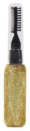 Тушь для волос с золотыми блестками, 15 мл Lukky