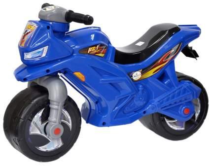 Двухколесный мотоцикл-каталка, синий Орион