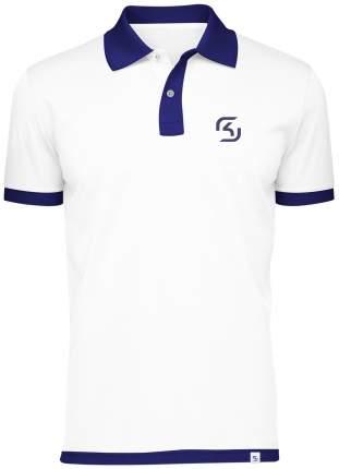 Поло SK Gaming Polo Shirt White (XL)
