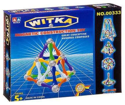 """Магнитный конструктор """"WITKA"""", 56 деталей"""