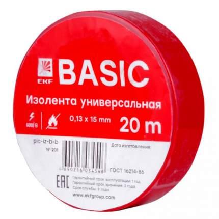 Изолента EKF plc-iz-b-r