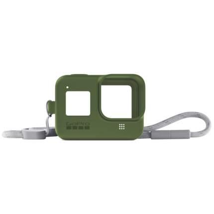 Чехол GoPro Sleeve +  Lanyard HERO8 Green (AJSST-005)