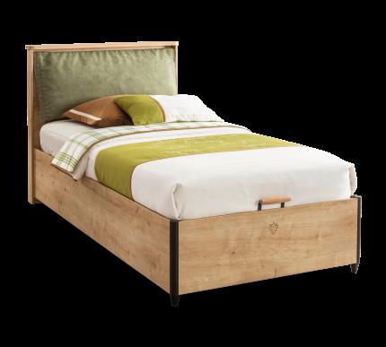 Кровать с подъемным механизмом Cilek Mocha 100х200 см, коричневый/черный