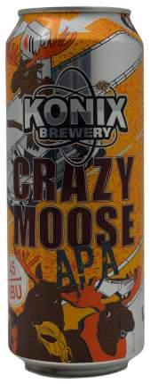 Пиво American Pale Ale Crazy Moose 500 мл