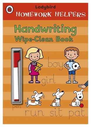 Книга Penguin Group Jillian Harker Ladybird Homework Helpers: Handwriting Wipe-Clean Book