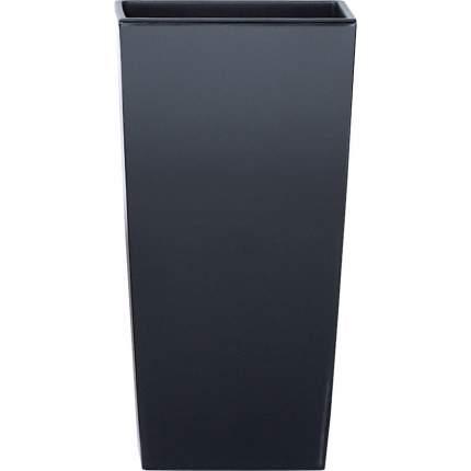 Prosperplast Кашпо с контейнером URBI SQUARE, 26,5 x 26,5 см, высота 50 см цвет антрацит