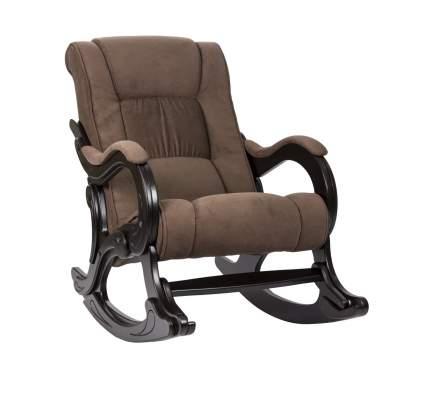 Кресло-качалка Мебель Импэкс Кресло-качалка Комфорт Модель 77 Венге, Verona Brown, велюр