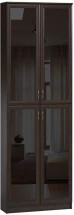 Шкаф книжный Divan.ru Марсель 29х80х240, венге темный