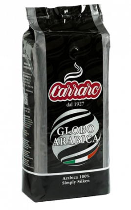 Кофе в зернах Carraro Globo Arabica 1 кг
