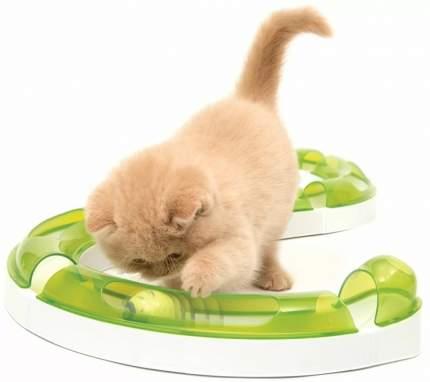Игрушка для кошек Hagen Сatit Senses 2.0, дорожка игровая, бело-зеленая, 140см