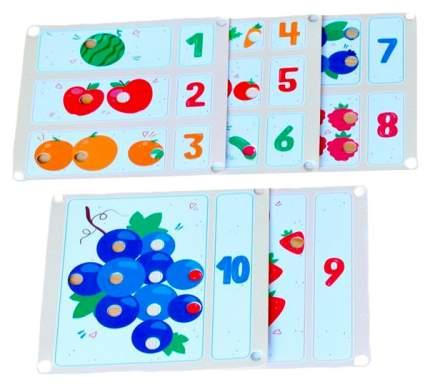 Набор карточек к мозаике Raduga Kids Карточки Изучаем счёт RK1009