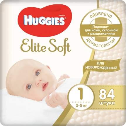 Подгузники Huggies Elite Soft Мега (1) 3-5 кг, (84/1)