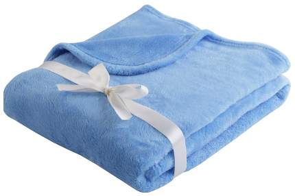 Плед-покрывало Наша мама Однотон цвет синий