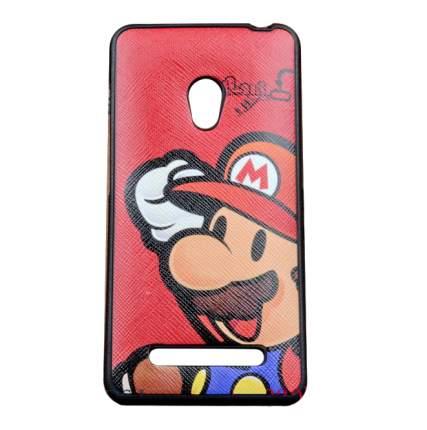 Чехол MyPads для Asus Zenfone 5 A500CG/ A501CG Super Mario