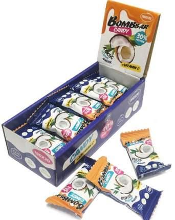 Протеиновые конфеты кокос, кешью, финик 30% Bombbbar (18 г.)(20 шт.)