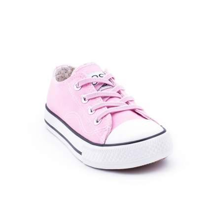 Кеды для девочки Coccodrillo, 35 р-р, цв.розовый