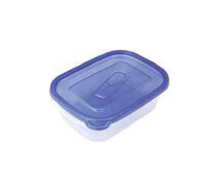 Контейнер для хранения пищи Good & Good REC 2-1/COL ONE TOUCH Прозрачный; синий