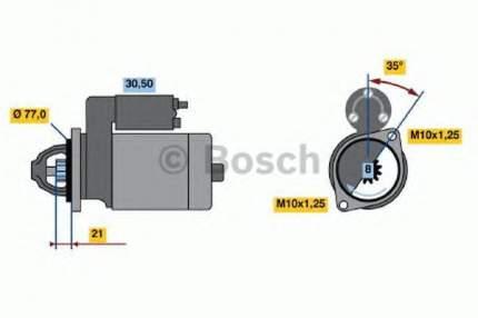 Стартер Bosch 0986012301