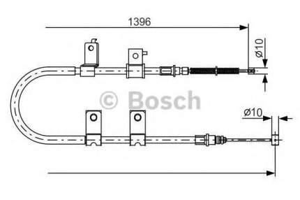 Трос cтояночного тормоза Bosch 1987482083