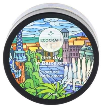 Скраб для лица Экокрафт для зрелой кожи Один день в Барселоне 60 мл