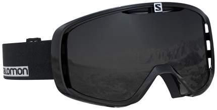 Горнолыжная маска Salomon Aksium 2019 black-white/solar black