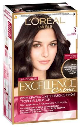 Краска для волос L'Oreal Paris Excellence Creme 3.00 Dark 270 мл