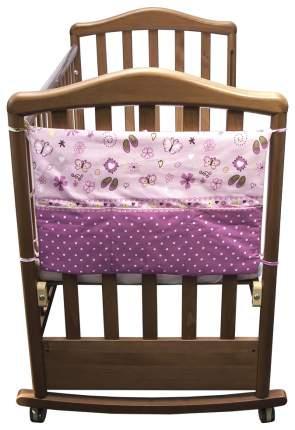 Текстильный карман в детскую кроватку Сонный гномик Золушка 207
