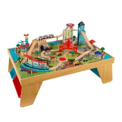 Деревянная железная дорога со столом Аэросити KidKraft 17554_KE