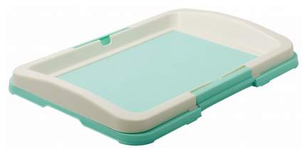 Туалет для собак PetLine P102 зеленый, 48х35х6 см