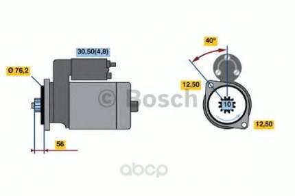 Стартер Bosch 0001120406
