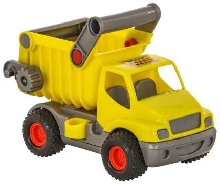 Автомобиль-самосвал Wader КонсТрак  жёлтый