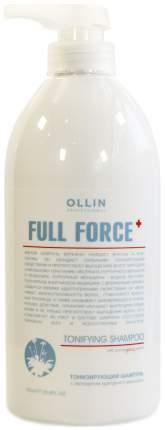 Шампунь Ollin Professional Full Force Tonifying Shampoo With Purple Ginseng Extract 750 мл